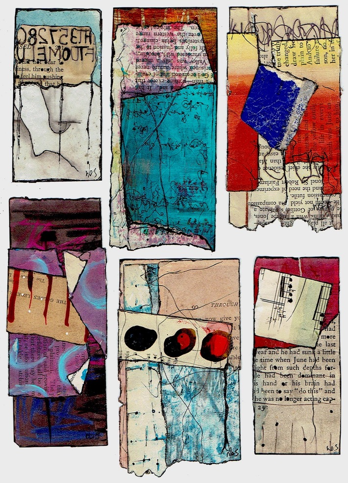 3-scrap collages, july 2021