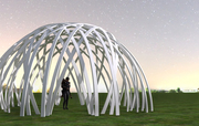 Geometric Patterned Pavilion