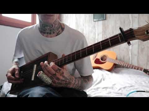 Gary O'Slide - Dark slide rock blues - cigar box guitar
