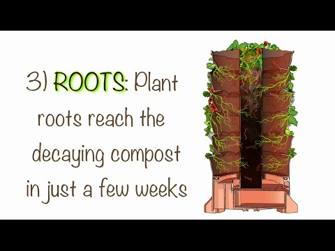 Organic Container Gardening -- How & Why the Garden Tower 2 Works