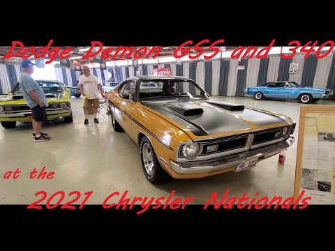 Dodge Demon !! ( at the 2021 Chrysler Nationals, Carlisle )