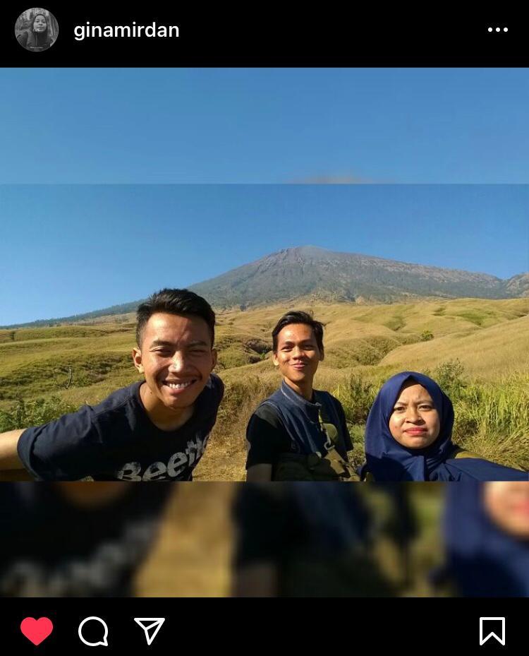 AES13 Gunung Rinjani