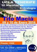 III Maraton de Astrología Tito Maciá