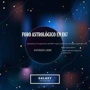 Ciclo de foros astrológicos