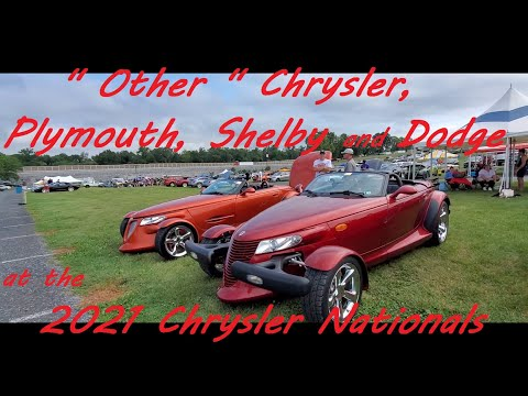 Other MOPARS at the 2021 Chrysler Nationals, Carlisle
