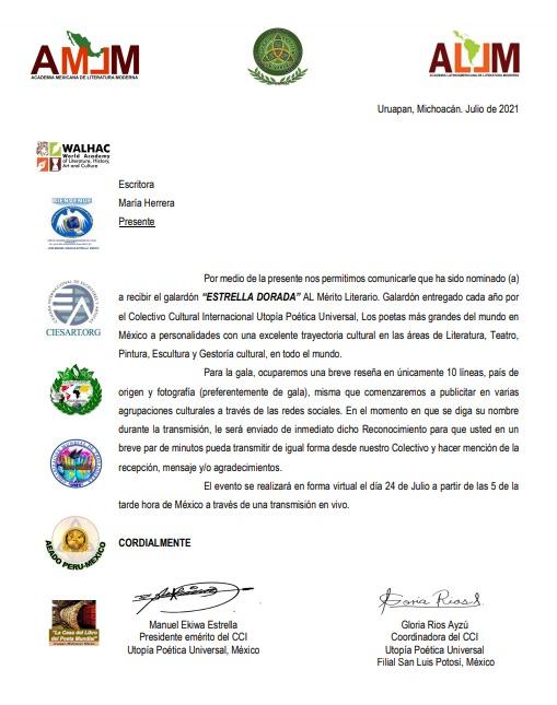 Premio ESTRELLA DE ORO