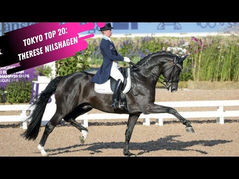 Tokyo Top 20: Therese Nilshagen & DANTE WELTINO OLD (SWE) Grand Prix Dressage