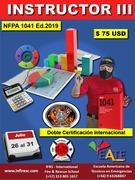 CURSO INTERNACIONAL: NFPA 1041 Nivel III