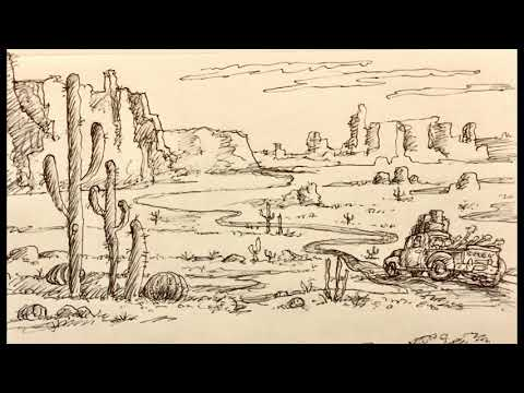 Lost in the Desert - Uncle John & Dave take a wrong turn PART 1~
