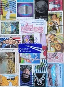 Stamp collages