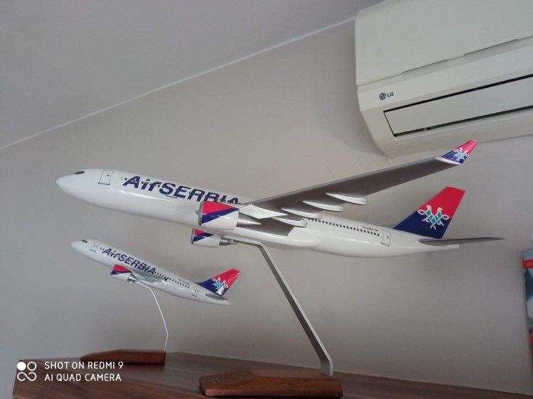 1:100 Air Serbia A319 & A330-200
