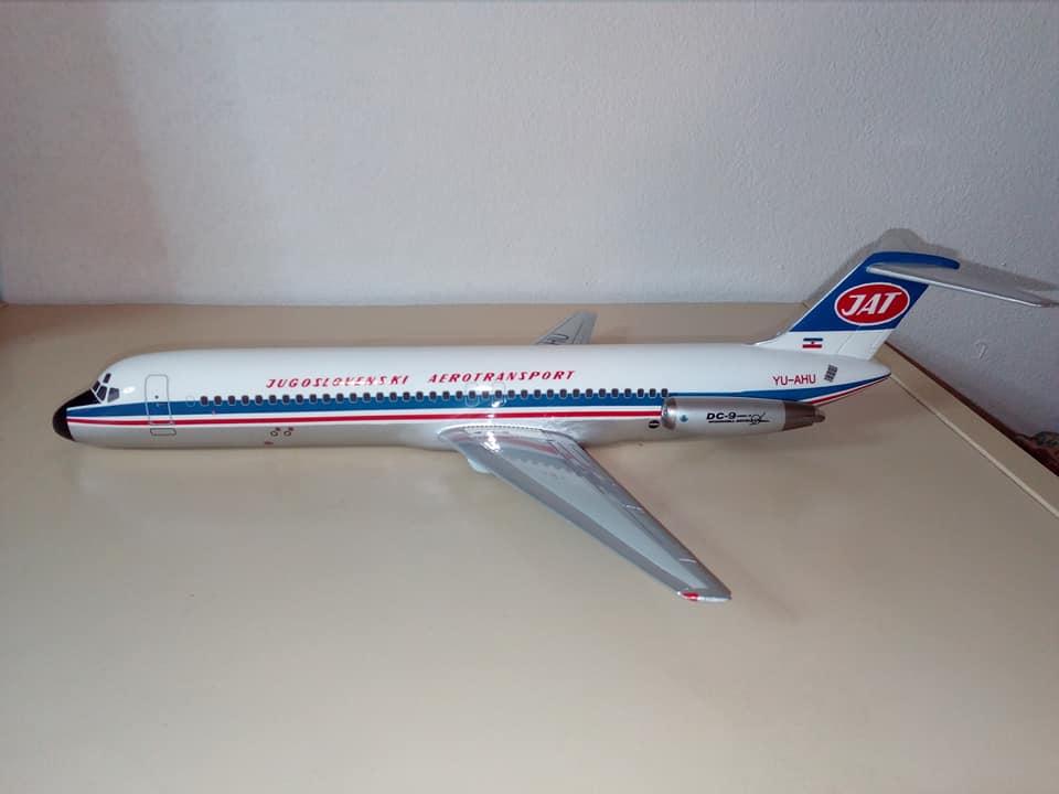 1:100 JAT DC-9-30