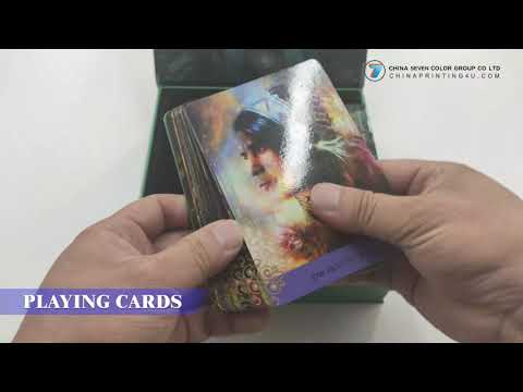 High Quality Tarot Card Printing With Gold Foil Gift Box In China