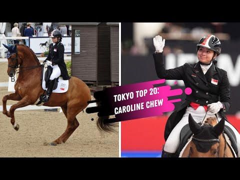 Tokyo Top 20: Singapore Makes An Olympic Debut In Dressage With Caroline Chew & Tribiani