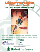 Midsummer Nights FREE Movies on the Lawn