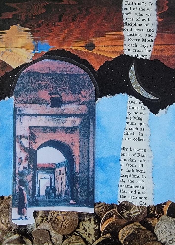 Mystic doors collage