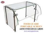 Food Guard | Portable Screen | ADM Sneezeguards