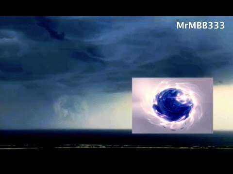 """NJ woman sees what she described as a """"Stargate/Portal"""" structure in sky below a thunderstorm!"""