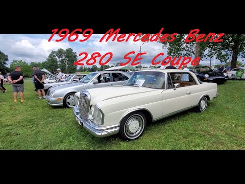 1969 Mercedes Benz 280 SE Coupe