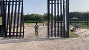 Open Gate, Mexican Border