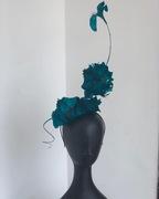 Exquisite fur headpiece