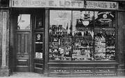 Loft's Cutlery Shop, Turnpiike Lane, c1910
