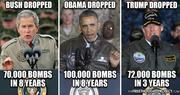 In Just 3 Years, Trump Dropped 72,000 Bombs.