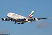 Emirates A380 A6-EUS