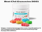 Best Cbd Gummy Bears