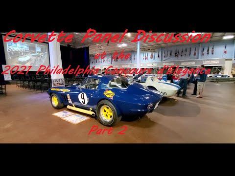 Corvette and Chevrolet's 1960's Non - Racing Program Panel Discussion Video 2