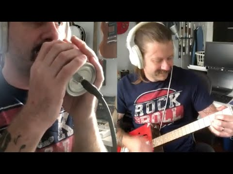 The Lion Sleeps Tonight (performed on homemade instruments)