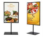 NEW! Poster Display Stands & Poster Holders | A4, A3, A2, A1 & A0 | Floor Standing Sign Holders | Indigo Displays