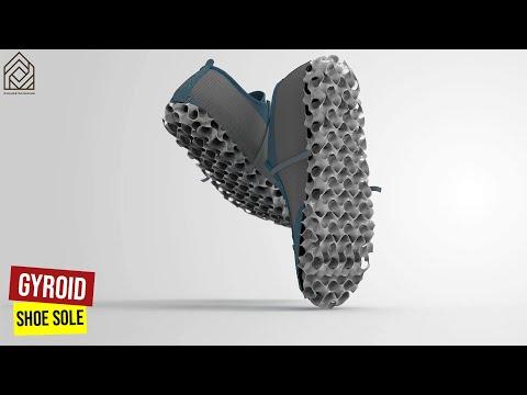 Gyroid Shoe sole