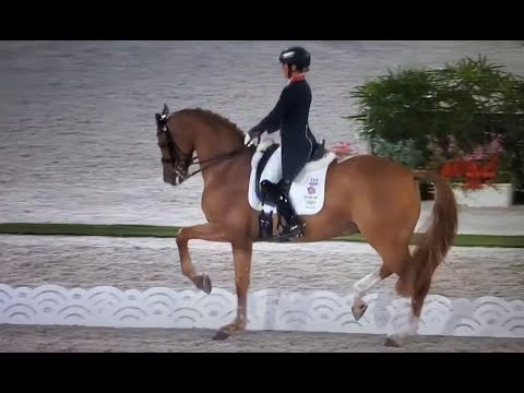 Tokyo 2021: Charlotte Dujardin & Gio (Pumpkin) Rocket Great Britain Into Second Place With 80.9%