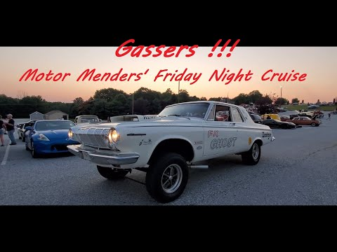 Gassers !!! at the July 2021 Motor Menders' July 2021 Friday Night Cruise