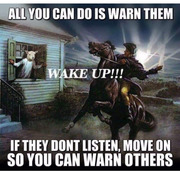 Most people who consider themselves awake are not really awake