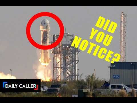 We Can't Be The Only Ones Who Noticed This About Bezos' Rocket!!!