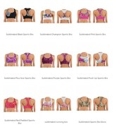 Sublimated sports bra manufacturers