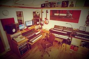 Music recording production studio
