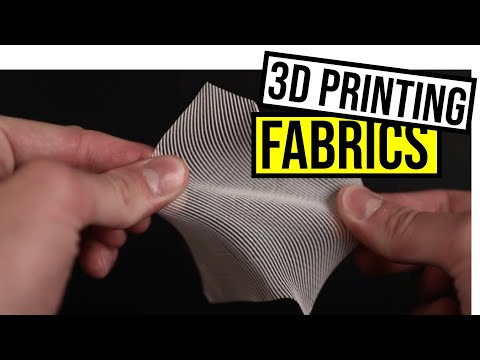 3D Printing Fabric is easier than you think! (Grasshopper Tutorial)