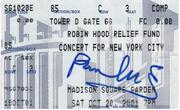Paul McCartney. The Concert for New York City.