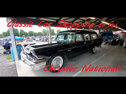 Classic Car Shopping at the Chrysler Nationals Video 2