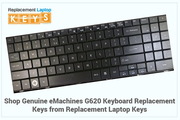 Shop Genuine eMachines G620 Keyboard Replacement Keys from Replacement Laptop Keys