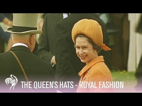 Royal Fashion: The Queen's Fabulous Hats | Vintage Fashions