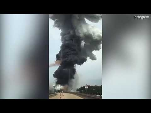 Breaking: Shocking footage shows explosion at chemical plant in Germany