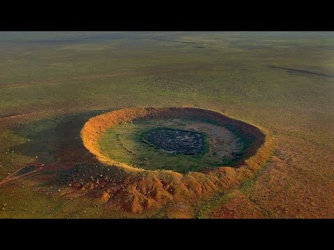 The Impact Crater in Australia; Wolfe Creek Crater