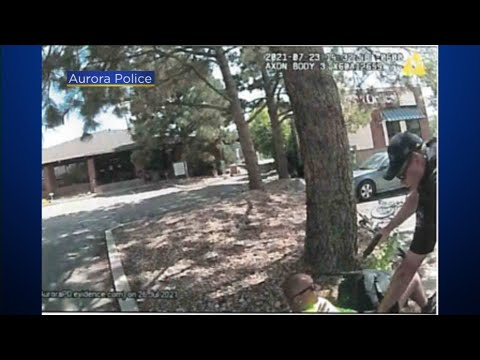 Body Cam Images Show Aurora Police Officer Pistol-Whipping And Strangling Suspect