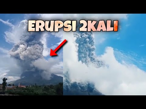 North Sumatra, Indonesia: Mt. Sinabung Erupts Once Again