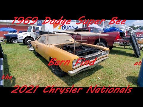 1969 Dodge Super Bee Barn Find