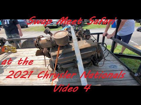Swap Meet Safari at the 2021 Chrysler Nationals Video 4